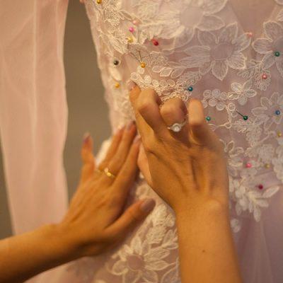 Kinh nghiệm may áo cưới bạn cần biết