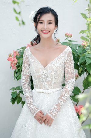 áo cưới phom A