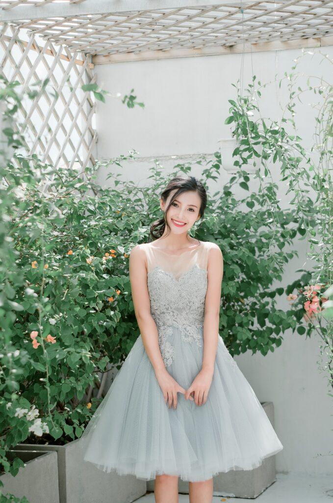 áo cưới ngắn