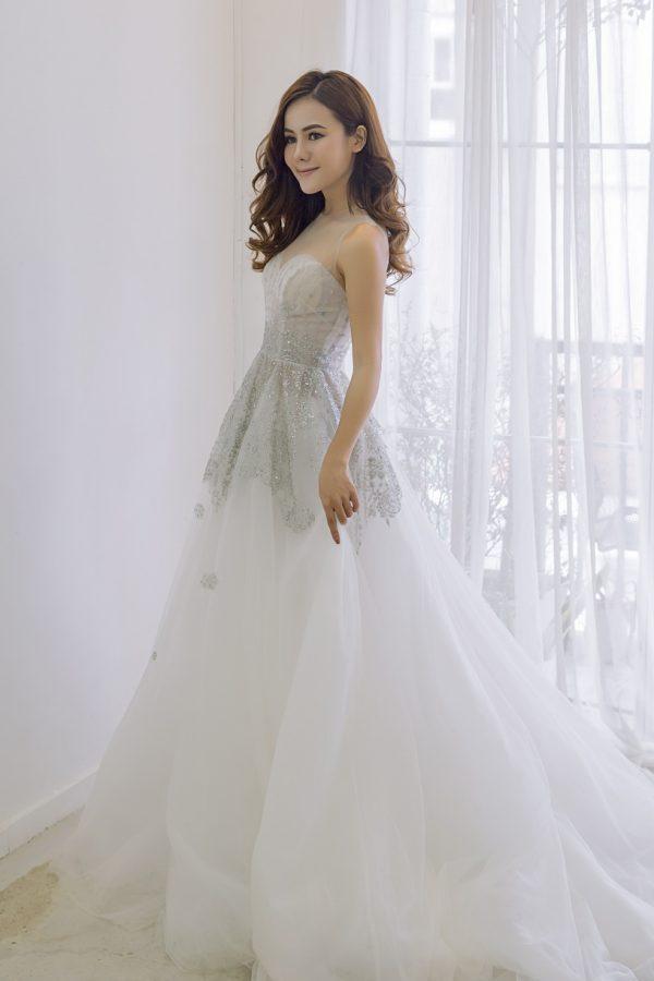 áo cưới amanda