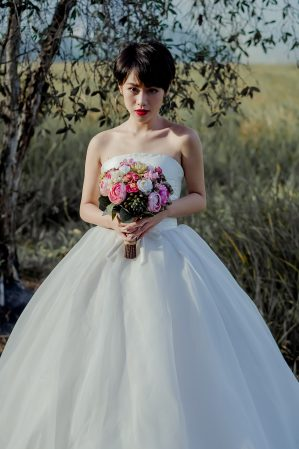 wedding dress amy