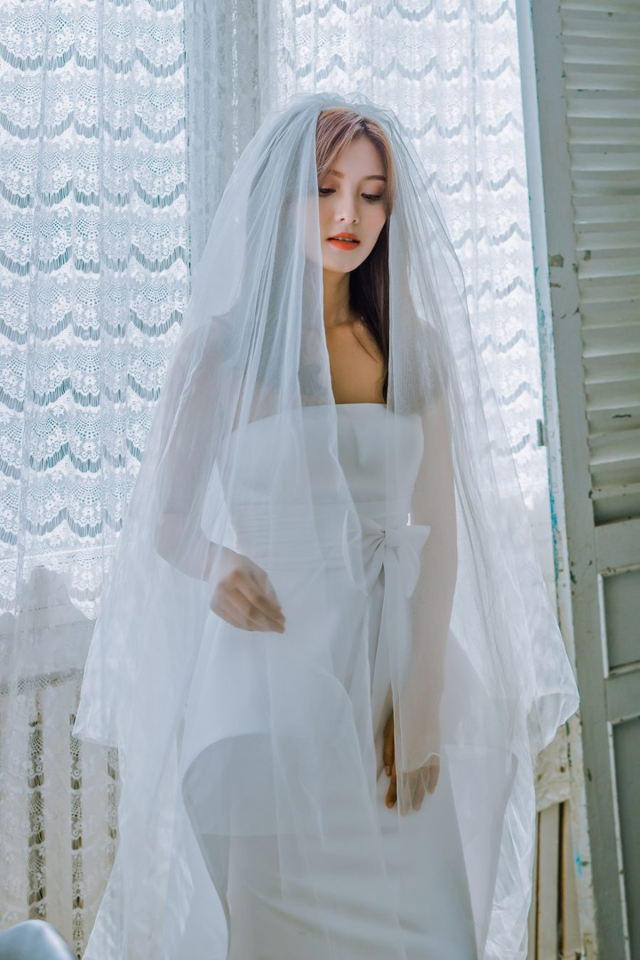 áo cưới suôn