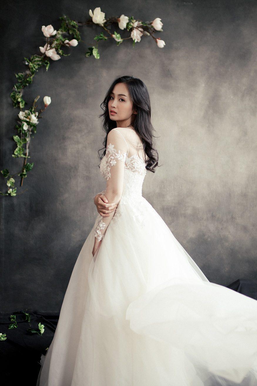 áo cưới camelia