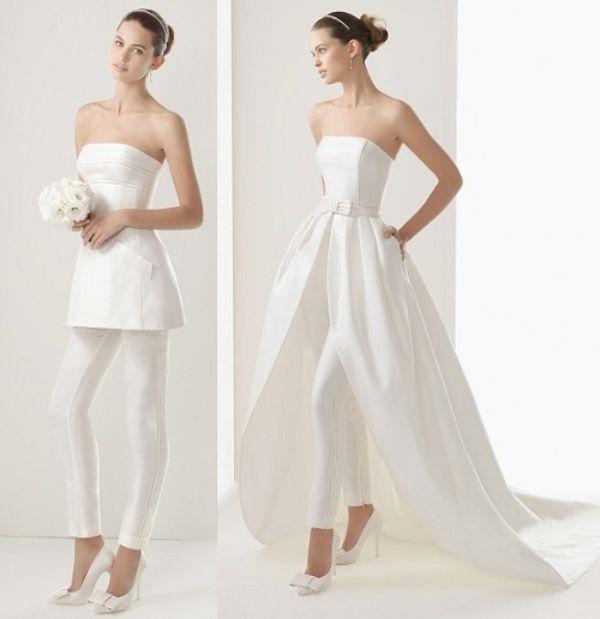 Áo cưới hiện đại cho cô nàng mạnh mẽ