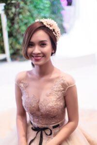áo cưới màu nude