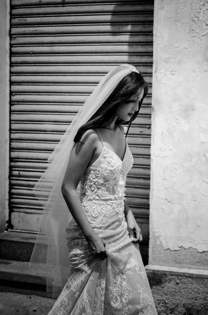 áo cưới 2 dây Váy cưới Kelsey
