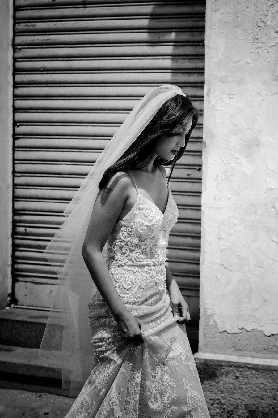 áo cưới 2 dây