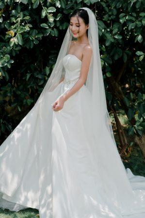 váy cưới công chúa noah