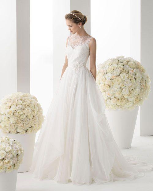 tơ nhân tạo may áo cưới