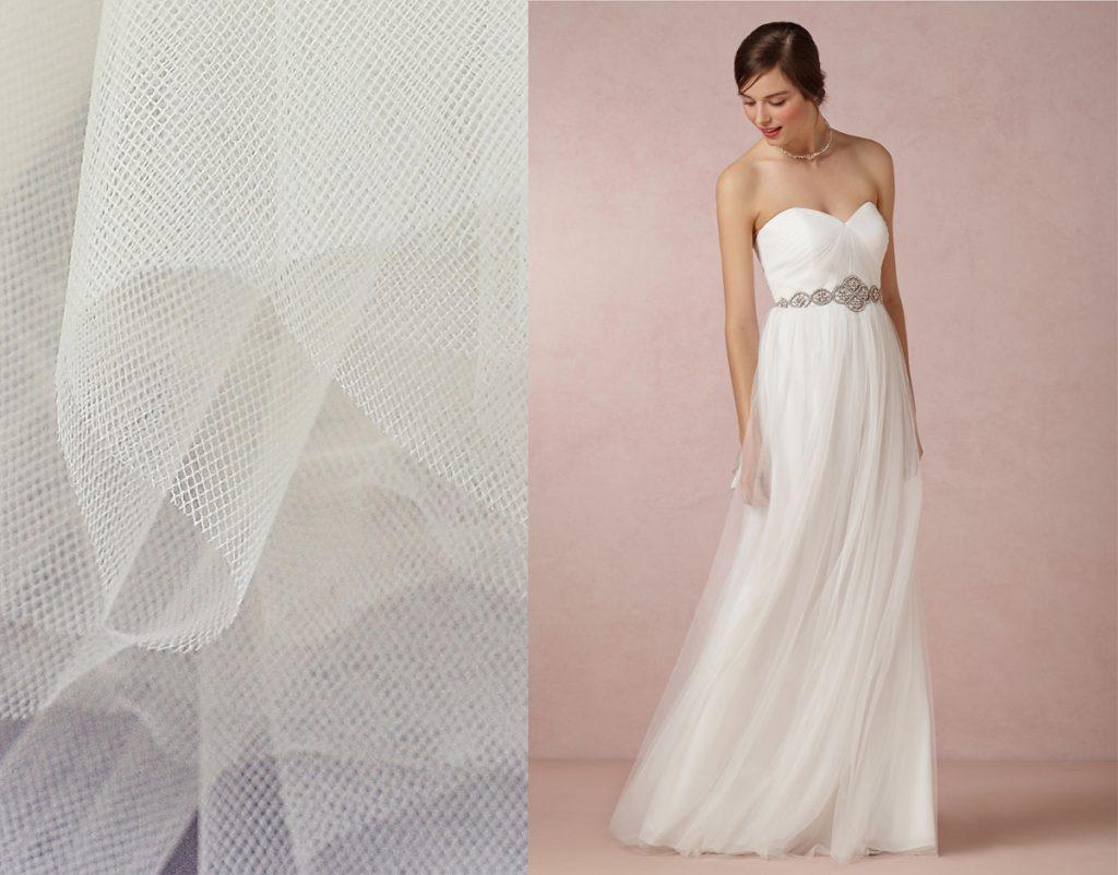 vải may áo cưới đẹp