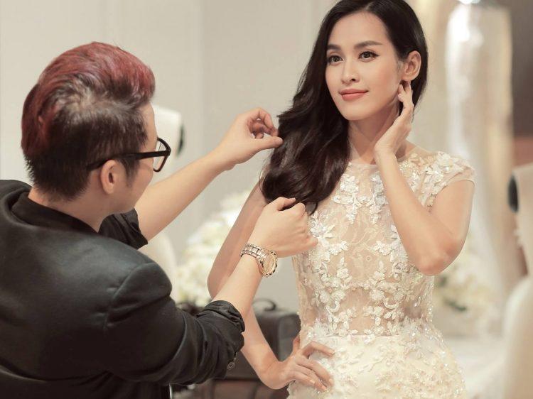 váy cưới đính ngọc đẹp