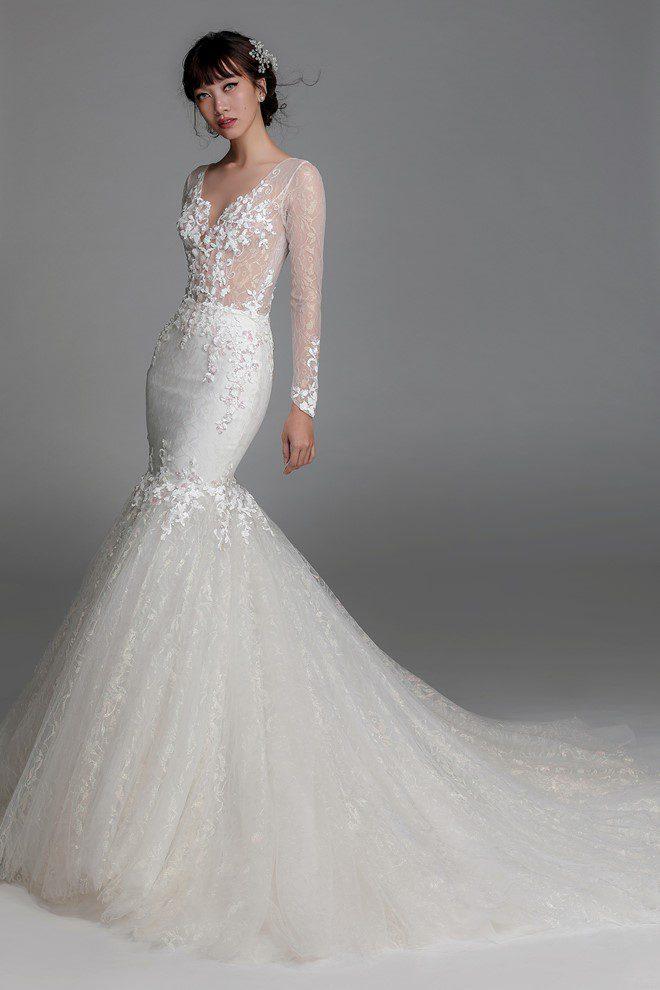 Một mẫu áo cưới đep của Chung Thanh Phong