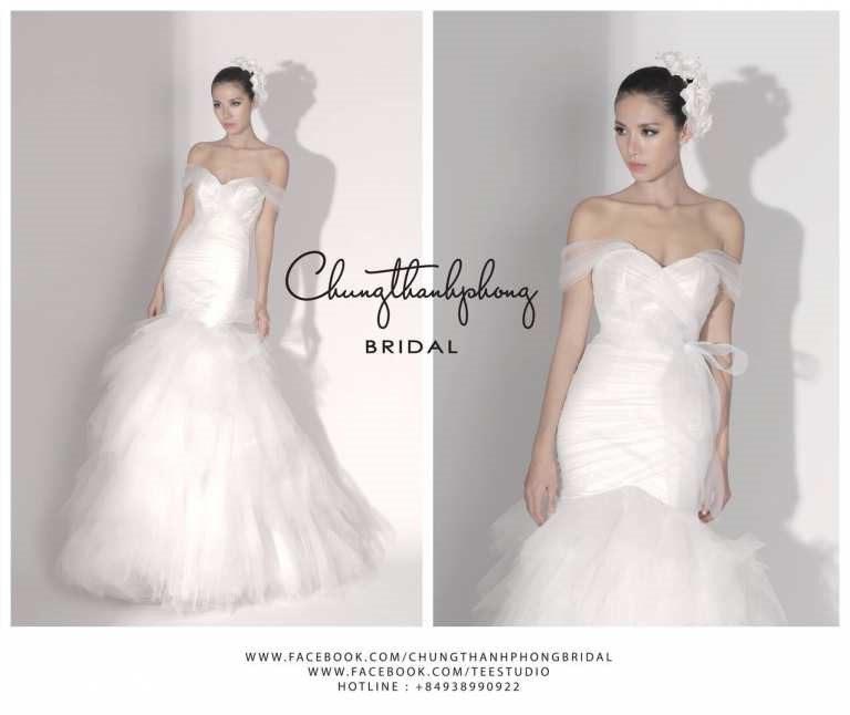 cửa hàng bán áo cưới đẹp