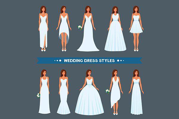 những kiểu phong cách áo cưới