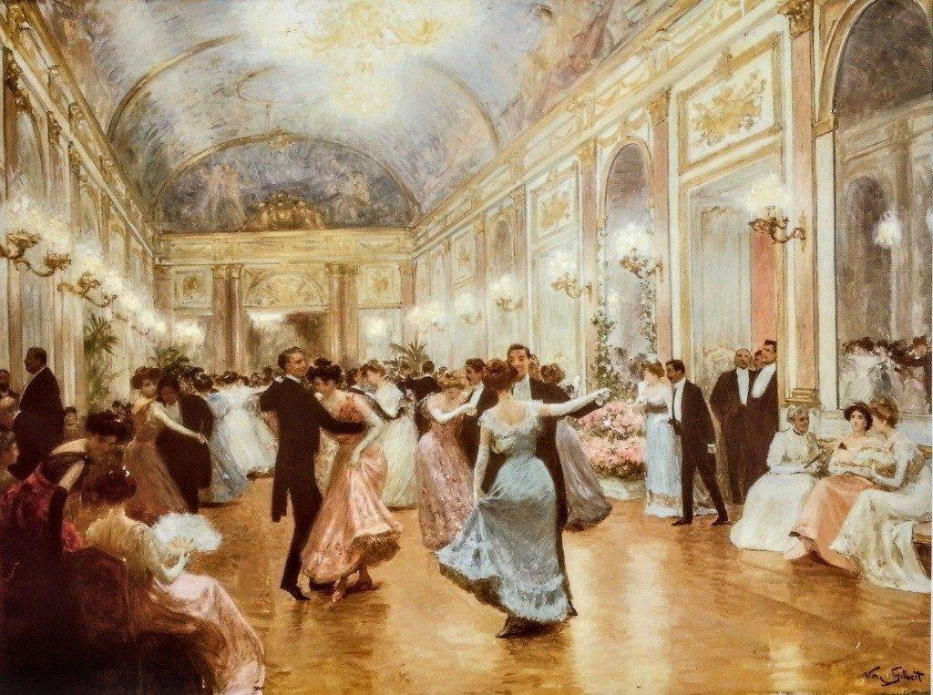 Các buổi yến tiệc chiêu đãi bắt nguồn từ tầng lớp quý tộc của Pháp