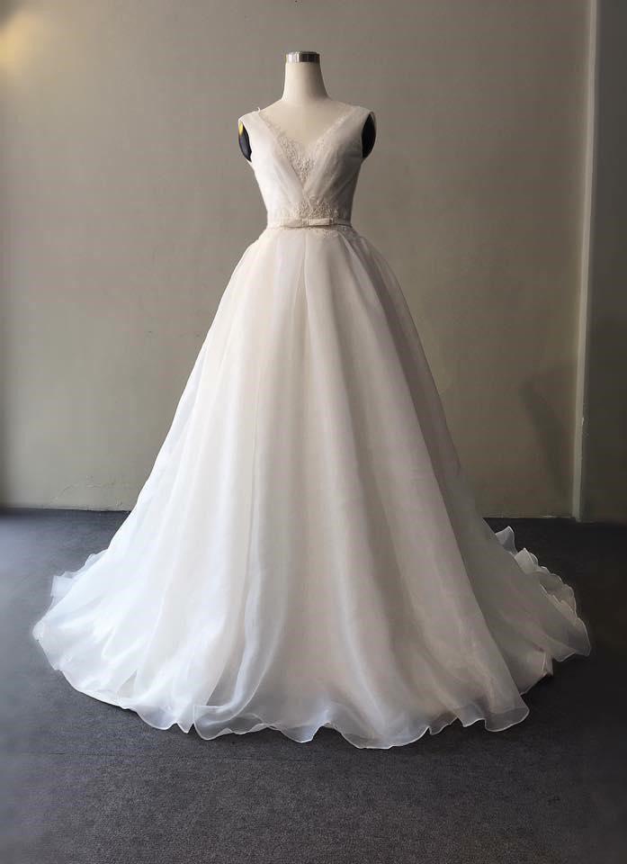 áo cưới cho cô dâu mũm mĩm
