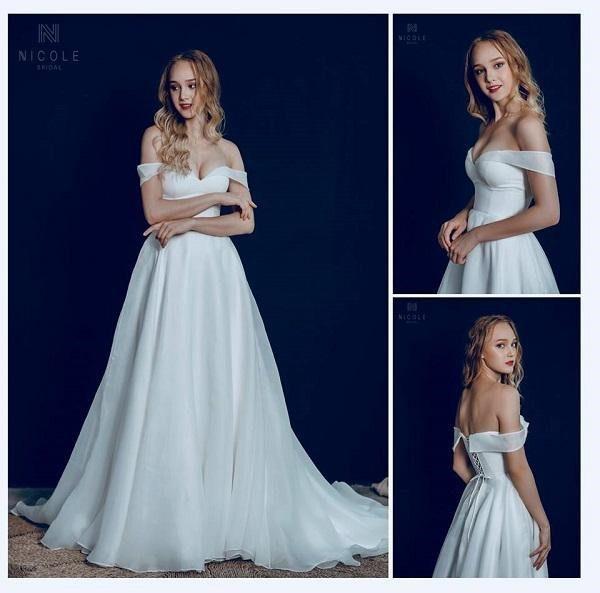 Áo cưới đơn giản đẹp
