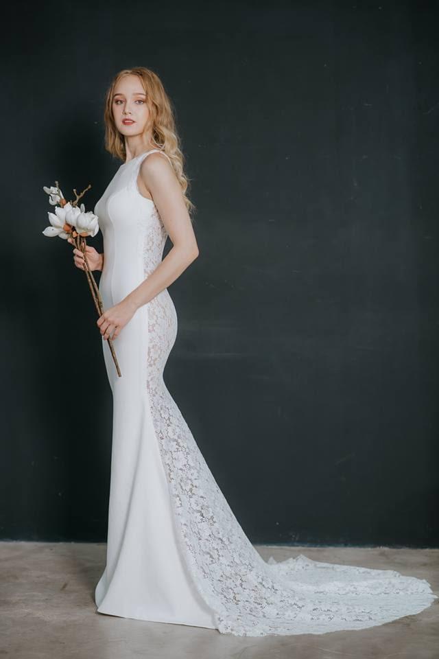 Áo cưới đơn giản mà sang trọng
