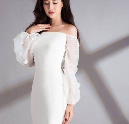 áo cưới đơn giản sang trọng