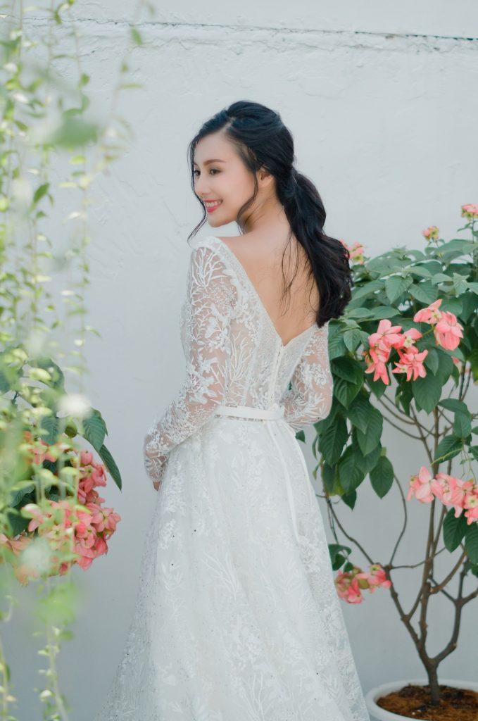 áo cưới đơn giản mà đẹp
