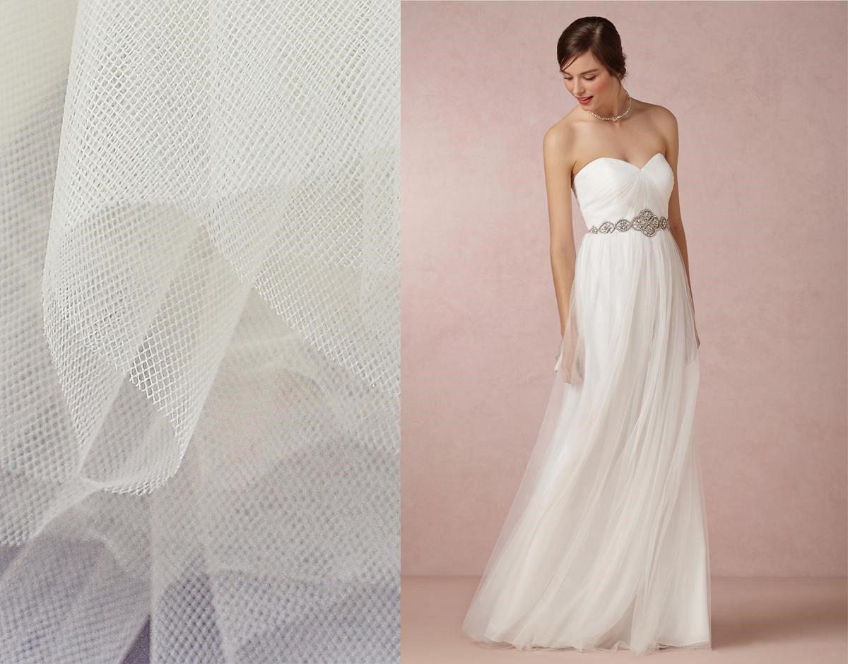 chất liệu vải may áo cưới cho cô dâu mập