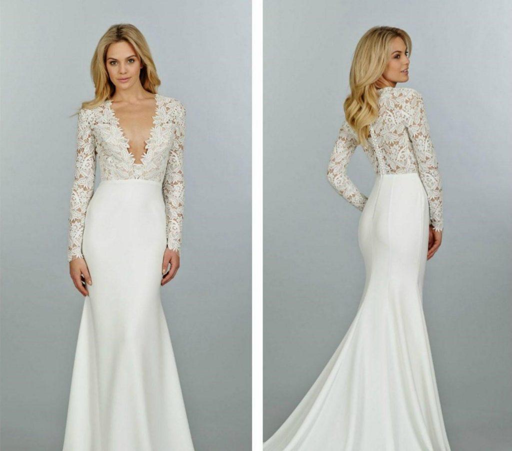 chọn chất liệu may áo cưới cho cô dâu mập