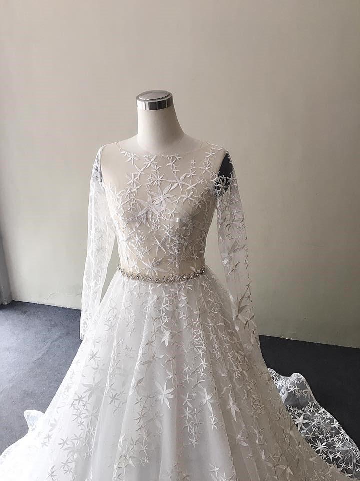 chọn áo cưới cô dâu mập