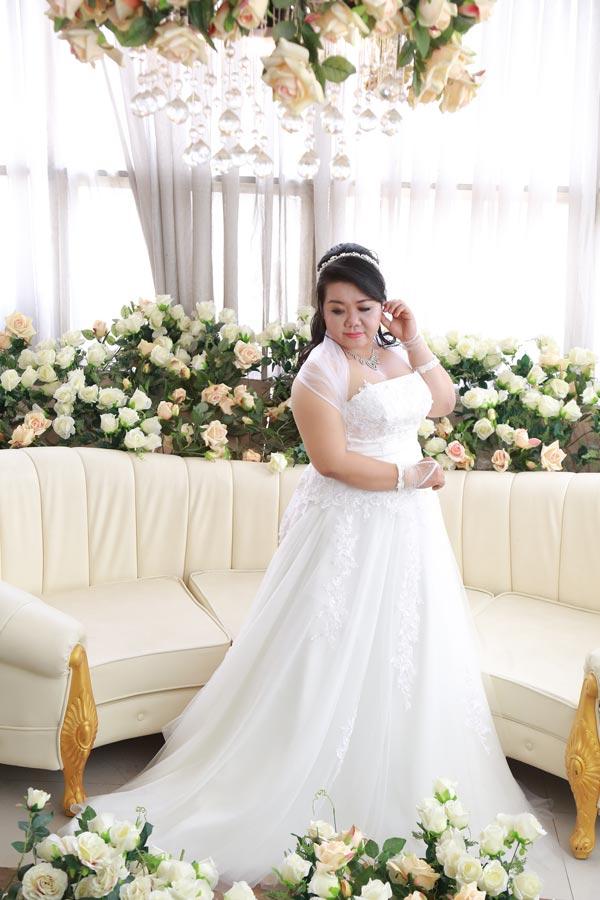 5 Mẹo tạo dáng chụp ảnh cưới cho Cô dâu mập