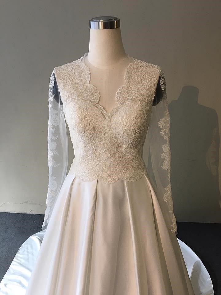 may áo cưới cho cô dâu mập
