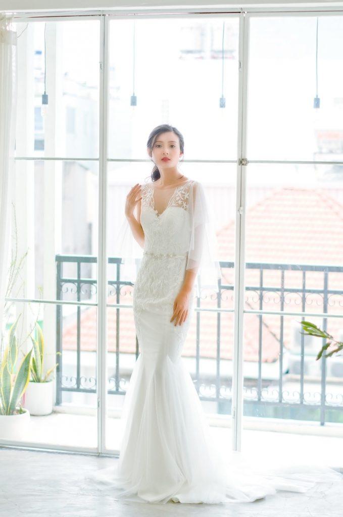 áo cưới đẹp của nicole bridal