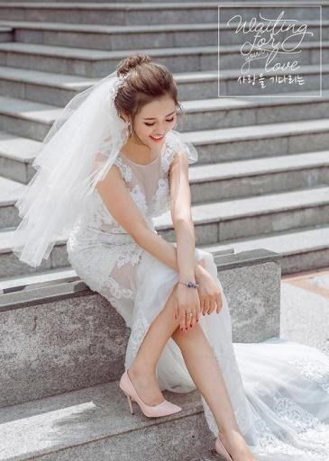 Liệu váy cưới đuôi cá có làm Cô dâu thấp lùn trông ngắn hơn nữa ?