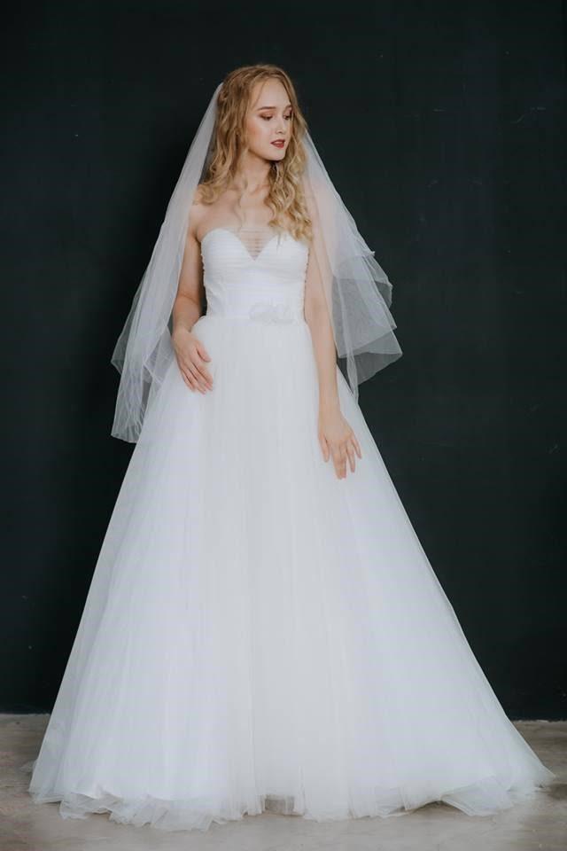 thuê áo cưới cô dâu bầu