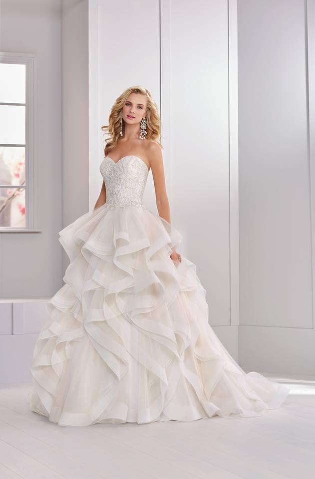 Váy cưới đơn giản tinh tế của Sue Ann Bridal