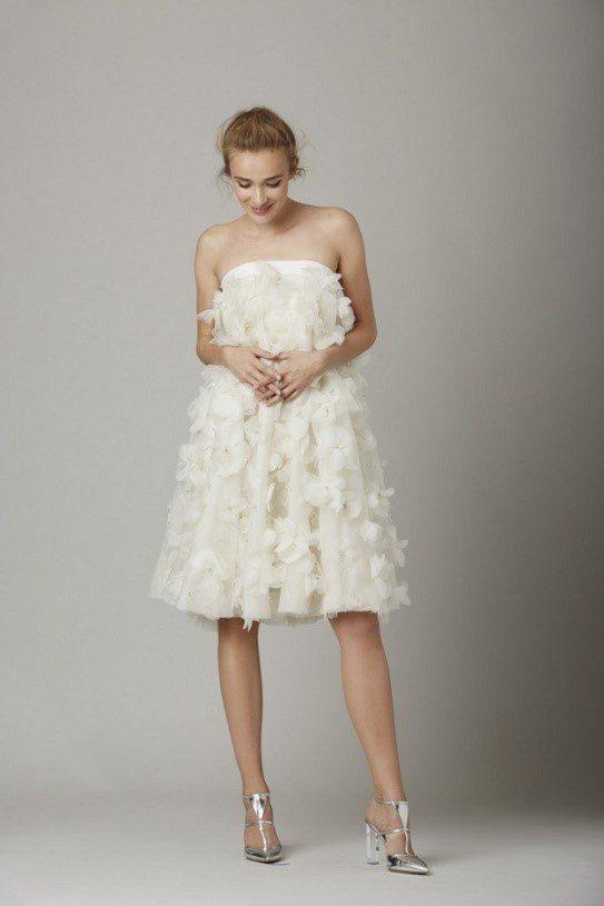 váy cưới ngắn cho cô dâu mập