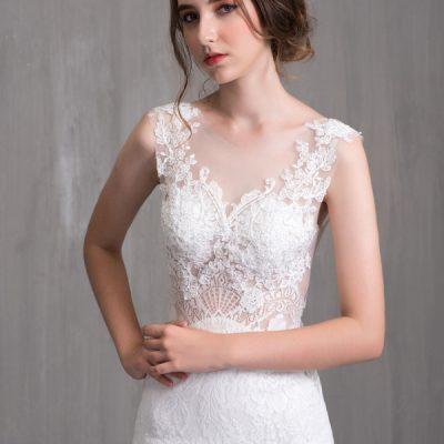 Những mẫu váy cưới kiểu dáng dạ hội đẹp năm 2020