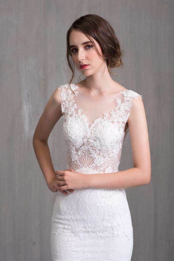 Những mẫu váy cưới kiểu dáng dạ hội đẹp năm 2019