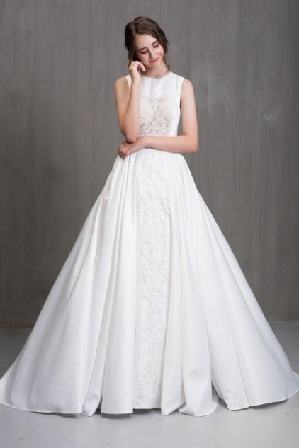 kiểu áo cưới kín đáo