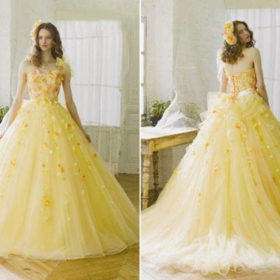 Những màu sắc áo cưới chụp hình đẹp nhất