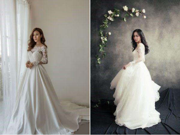 áo cưới công chúa đẹp
