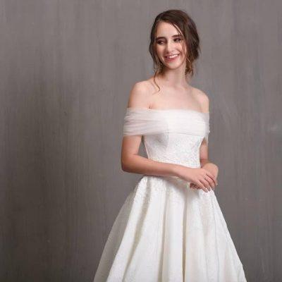 Áo cưới cúp ngực : Mặc váy cưới làm sao để cô dâu xinh đẹp nhất ?