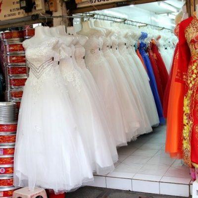 Những khu vực, cửa hàng để Mua áo cưới ở TP HCM