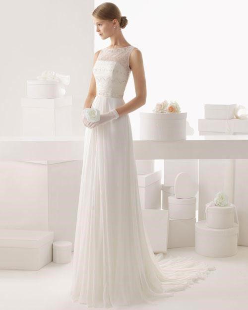 vải may áo cưới chiffon