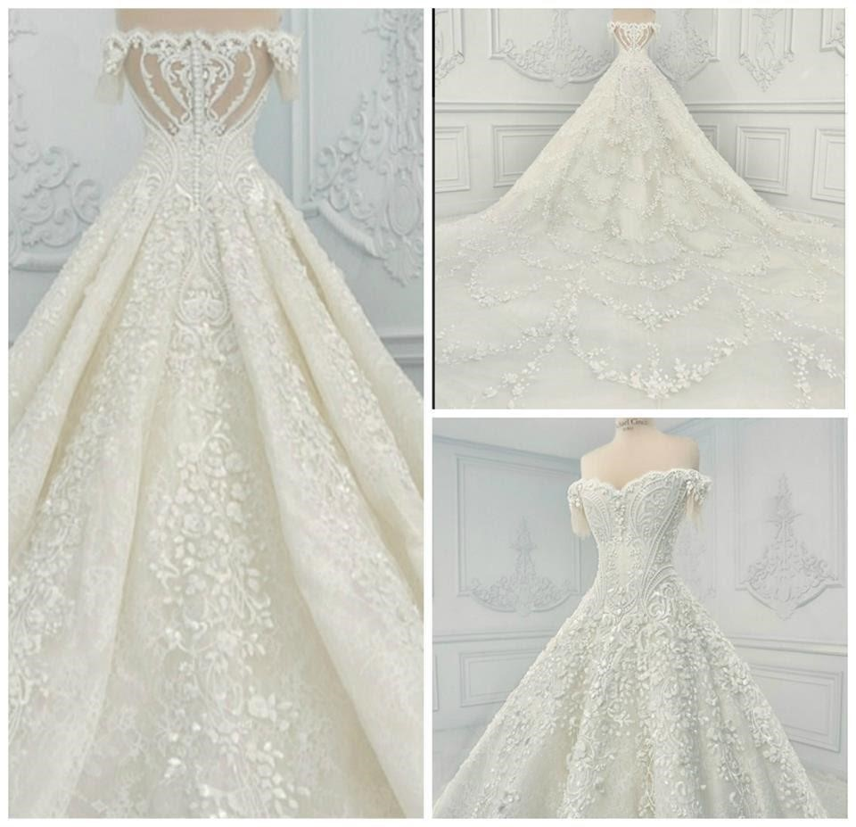 vải ren may váy cưới