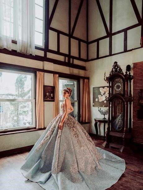 váy cưới công chúa joli poli