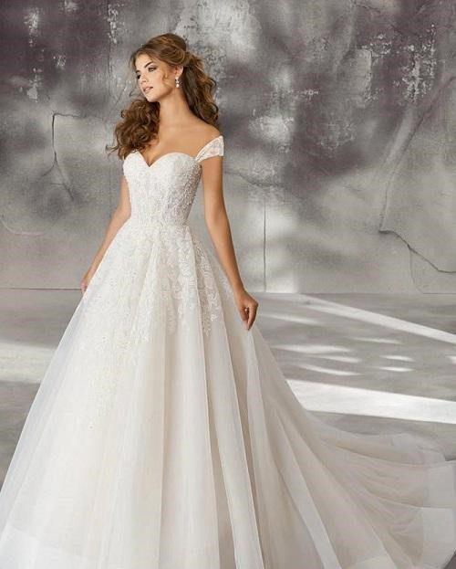 váy cưới công chúa vivi an