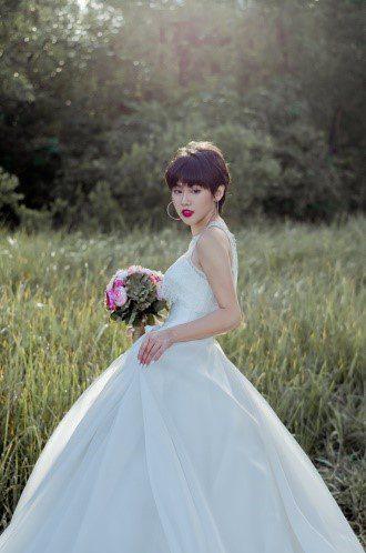 váy cưới 2 trong 1