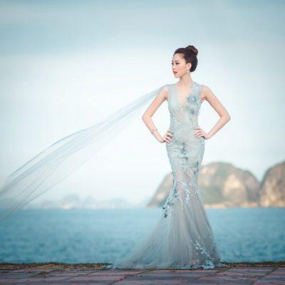 Màu sắc áo cưới đuôi cá đẹp nhất được nhiều Cô dâu lựa chọn