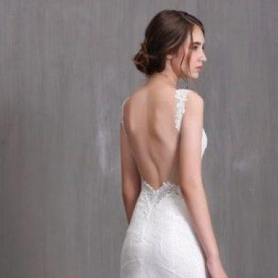 Những mẫu Váy cưới hở lưng đẹp nhất mùa cưới 2020