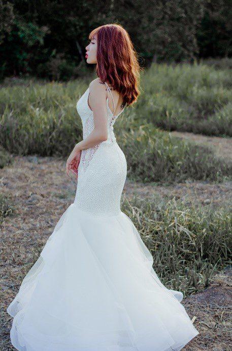 áo cưới hở lưng đẹp