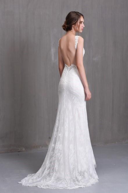 áo cưới hở lưng đẹp nhất